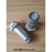 M12 Carbon Steel Hot Galvanized Boxbolt Blindschrauben